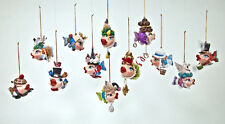 12 Days of Christmas Kissing Fish Ornaments - Katherine's Collection 28-530542