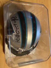 Deangelo Williams Signed Autographed Carolina Panthers Riddell Mini Helmet COA