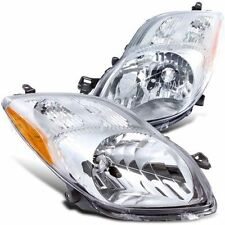 For 2007-2008 Toyota Yaris HEADLIGHT TO2503170 TO2502170 PAIR Left Right