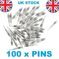100x Spare Pins for Watch Band Strap Link Remover Adjuster Repair Tool Kit UK