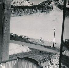 MONTGENÈVRE c. 1953 - Autos Fontaine Station de Ski  Hautes-Alpes - Div 10888
