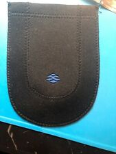 Vintage Neoprene Blackberry Open Top Carrying Pouch in Near Mint Condition