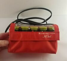 Remington All That Travel Hot Rollers Curlers Electric Pageant Dance Red
