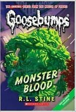 Goosebumps Monster Blood by R. L. Stine (Paperback, 2015) New Book Tween