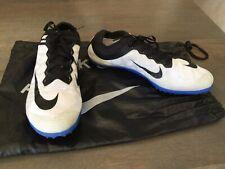 Nike Track & Field Mamba Chiodate Scarpe da ginnastica UK da Uomo 9.5 Nero Bianco RRP £ 99