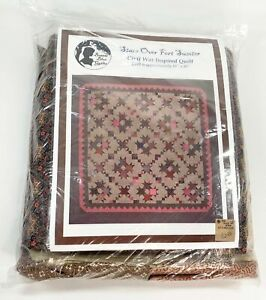 """Bonnie Blue Quilts Stars Over Fort Sumter Quilt Kit Civil War Inspired 81"""" x 81"""""""