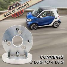 "3x112 - 4x156 (3 Lug Smart to 4 Lug Wheel) | Adapters / 1"" Spacers | x2 USA"