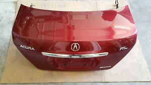2005 2006 2007 2008 Acura RL complete trunk lid with hinges