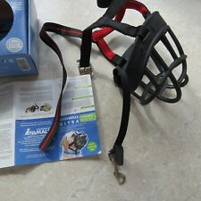 Baskerville dog muzzle - size 5. Includes instructions and all straps. Used once