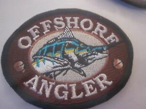 "FISHING PATCH BASS PRO SHOPS ""1"" OFF SHORE ANGLER FACTORY SEALED #31-12"