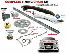 Pour CHEVROLET AVEO 1.3D T300 A13DTC A13DTE 2011 - > TIMING CAM Chain Kit + bride