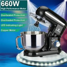 Trustmade 5.8QT 6 Speed Control Electric Stand Mixer with Stainless Steel Bowl