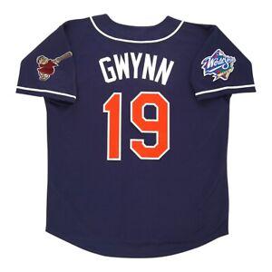 Tony Gwynn San Diego Padres 1998 World Series Alternate Navy Jersey Men's XL