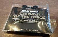 Disney Land Paris Star Wars Legends Of The Force Pin Logo