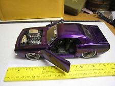Jada 1970 Plymouth Hemi Barracuda Blown Scale 1/24 Diecast Car Bigtime Muscle