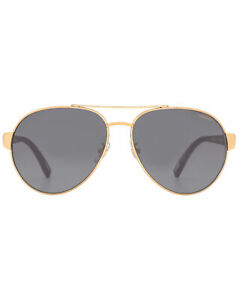 Chopard Racing Grey & Gold Aviator Style Sunglasses 95217-0369