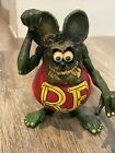 Rat Fink Toy Big Daddy Ed Roth Action Figure 1999 RARE