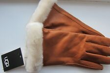 Gorgeous Pair of Ugg Leather Gloves Large New With Tags