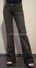 FORNARINA Jeans Pantaloni CULT Petrol w26 DENIM PANTS NUOVO