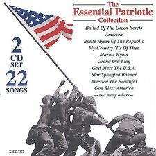 BALLAD OF THE GREEN BERETS Patriotic Songs God Bless The USA America NEW 2-CD's
