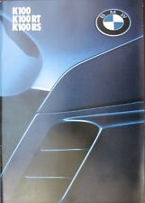 Prospekt BMW Motorrad K100RS K100RT K100  I/84