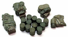 1/72 Scale Resin - Fuel Drums Sets - Allied 16 Pieces - Value Gear Details