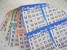 Bingo Paper-4 Cards/Sheet 5 Sheets/Book-125 books