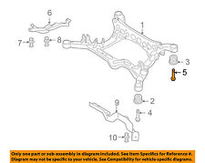 AUDI OEM 09-17 A5 Quattro Rear Suspension-Mount Bolt WHT004756A