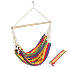 XXL Hamaca sillón colgante tumbona hammock jardin camping playa silla amaca