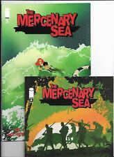LOT OF 2 THE MERCENARY SEA #'S 4 & 6  {2014 IMAGE} 1ST PRINTS! NM- & VF/NM NEW!