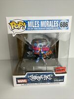 Funko POP! Marvel Street Art Collection #686 Miles Morales NYCC 2020 Limited Ed.