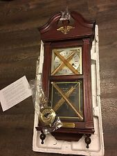 American Eagle Wall Clock Limited Edition Commemorative 200th Anniv NIB NOS