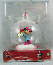 Disney Glass Ball Minnie Mouse Christmas 2014 Holiday Ornament New Boxed