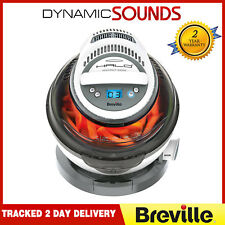 BREVILLE VDF122 Halo+ 1.25kg DuraCeramic Low Oil Health Fryer - Grey