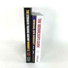X3 Mens Specialty Fitness Training Diet And Biohacking Book Set Of 3 Fit Guides