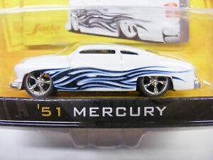 Jada Toys 1/64 Dub City Old Skool 51 Mercury White Item No 12037