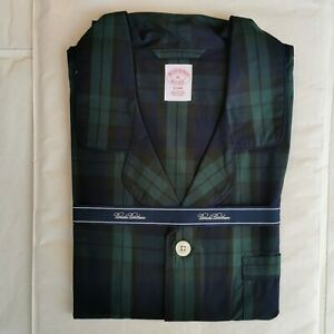Brooks Brothers Men's XL Blackwatch Check Cotton Pyjama Set