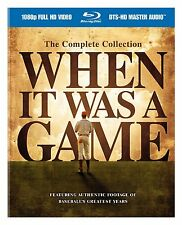 When it Was a Game Complete Collection Blu-ray Set Series TV Show ALL REGION HBO