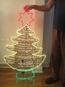Christmas Tree Light Up Outdoor/indoor Decoration