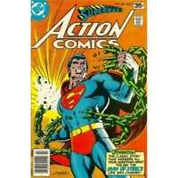Action Comics (1938 series) #485 in Near Mint minus condition. DC comics [*gm]