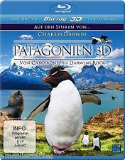 BLU-RAY 3D -  PATAGONIEN - VON CAMARONES BIS DARWINS ROCK - NEU/OVP