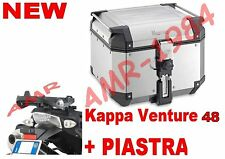 BAÚL SUPERIOR CASE K-VENTURE KVE48A 48 LT + PLACA SR5100 BMW R 1200 R 2011-2014