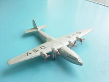 avion miniature argentée DINKY TOYS Armstrong Whitworth Air Liner Meccano