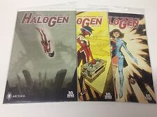 HALOGEN #1-3 (ARCHAIA/BOOM/TIERNEY/CHAN/0217370) COMPLETE SET LOT OF 3
