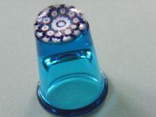 Thimble millefiori blue, excellent condition