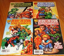 1997 Heroes Reborn The Return 1 2 3 4 Full Set 1st Prints Avengers Hulk