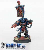 Crimson Fists Chapter Master Pedro Kantor MASTERS6 painted metal MadFly-Art