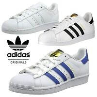 ✅24Hr UK DELIVERY ✅ ADIDAS ORIGINALS SUPERSTAR KIDS JUNIOR BOYS TRAINER SHOES