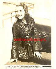 Vintage Loretta Young GORGEOUS GLAMOUR '36 Publicity Portrait