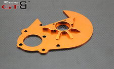 GTBracing GEAR PLATE(Silver and orange) FOR hpi km rv baja 5b ss 5t 5sc GR059